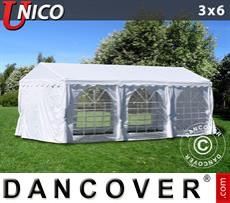 Carpa para fiestas UNICO 3x6m, Blanco
