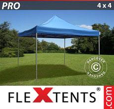 Carpa plegable FleXtents 4x4m Azul