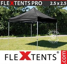 Carpa plegable FleXtents 2,5x2,5m Negro