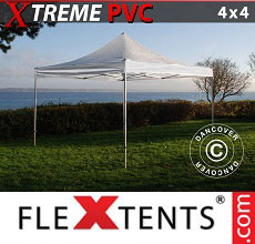 Carpa plegable FleXtents 4x4m Transparente