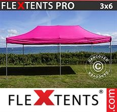 Carpa plegable FleXtents 3x6m Rosa