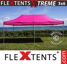 Carpa plegable FleXtents 3x6m Rosa