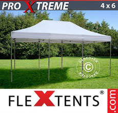 Carpa plegable FleXtents 4x6m Blanco
