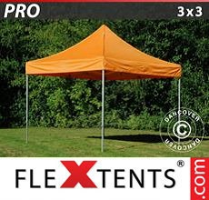 Carpa plegable FleXtents 3x3m Naranja
