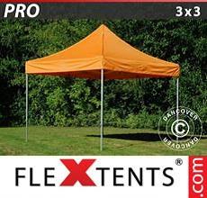 Carpa plegable FleXtents 3x3m Naranja