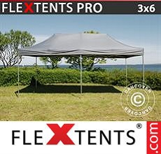 Carpa plegable FleXtents 3x6m Gris