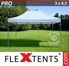 Carpa plegable FleXtents 3x4,5m Blanco