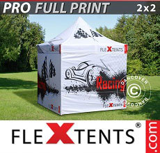 Carpa plegable FleXtents 2x2m, incluye 4...