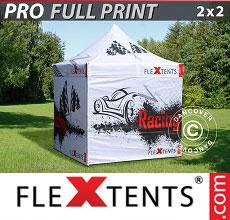 Carpa plegable FleXtents 2x2m, incluye 4...