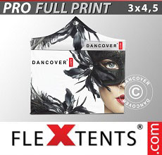 Carpa plegable FleXtents 3x4,5m, incluye 4...