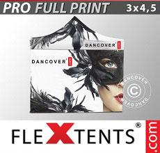 Carpa plegable FleXtents 3x4,5m, incluye 4...