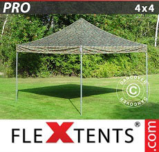 Carpa plegable FleXtents 4x4m Camuflaje