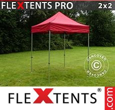 Carpa plegable FleXtents 2x2m Rojo
