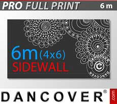 Muro lateral impreso de 6m para FleXtents PRO 4x6m