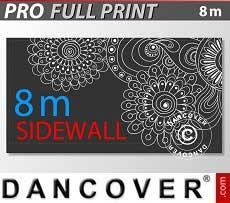 Muro lateral impreso de 8m para FleXtents PRO