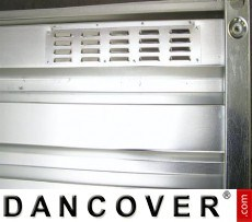 Rejilla de ventilación para contenedores