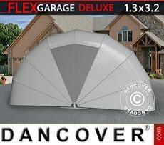 Garaje plegable (MC), 1,3x3,2x1,6m, gris