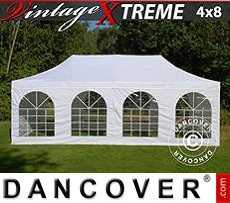Flextents Carpas Eventos 4x8m Blanco, Incl. 6 lados