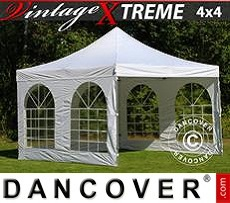 Flextents Carpas Eventos 4x4m Blanco, Incl. 4 lados