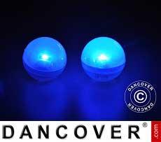 Luz de Fiesta LED, Fairy Berry, Azul 24 piezas