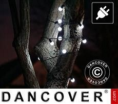Guirnalda de luces LED, parpadeantes, 25m, Blanco Frío