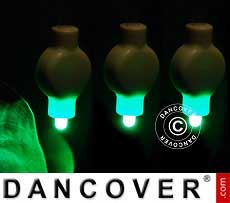 Luz LED para linterna de papel, 20 uds, Verde
