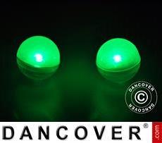 Luz de Fiesta, Fairy Berry, LED, Verde 24 piezas