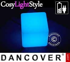 Cubo de luz de LED, 20x20cm, Multifunción, Multicolor
