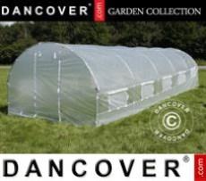 Invernadero de policarbonato, Arrow 24m², 3x8m, Plateado
