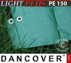 Lona impermeable 3x4m, PE 150g/m², Verde