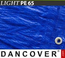Lona impermeable Reforzado 6x10m, PE 120g/m², Transparente
