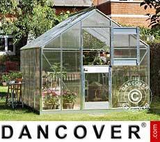 Invernadero jardín Cristal Juliana Junior 8,3m², 2,77x2,98x2,57m, Aluminio