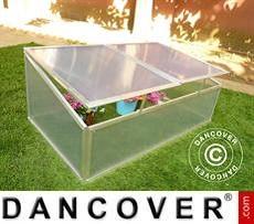 Mini invernadero de suelo 0,60m², 1,08x0,56x0,40m, Aluminio