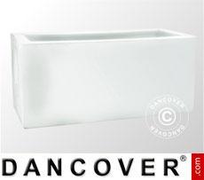 Fioriera Fenice 45x100x45,5cm, Bianco