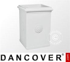 Fioriera Napoli 50x70cm, Bianco