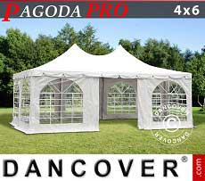 Tendoni Gazebi Party Pagoda PRO 4x6m, PVC