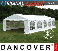 Tendoni Gazebi Party Original 5x10m PVC,