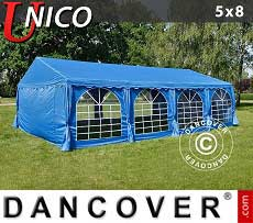 Tendoni Gazebi Party UNICO 5x8m, Blu