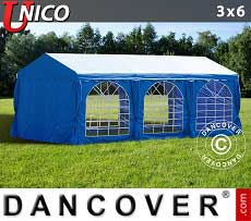 Tendoni Gazebi Party UNICO 3x6m, Blu