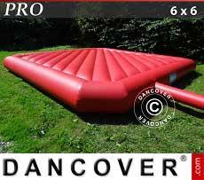 Cuscino gonfiabile 6x6m, Rosso, qualità per il noleggio