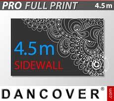 Pareti laterali stampate 4,5m per FleXtents PRO