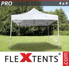 Tenda per racing PRO 4x4m Bianco