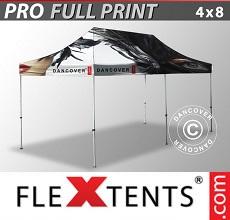 Tenda per racing PRO con completa stampa digitale, 4x8m