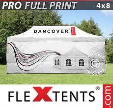 Tenda per racing PRO con completa stampa digitale, 4x8m, incl. 4…