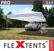 Tenda per racing PRO 3x6m Bianco