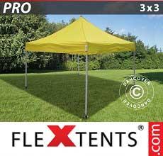 Tenda per racing PRO 3x3m Giallo