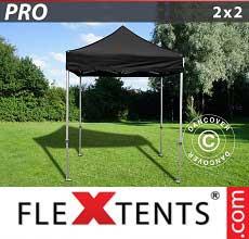 Tenda per racing PRO 2x2m Nero
