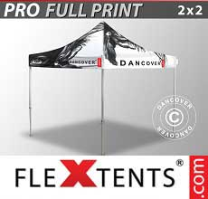 Tenda per racing PRO con completa stampa digitale, 2x2m