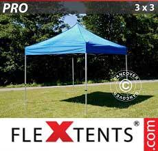Tenda per racing PRO 3x3m Blu