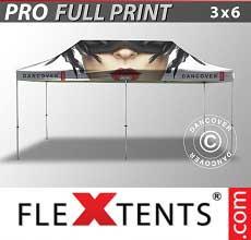 Tenda per racing PRO con completa stampa digitale, 3x6m